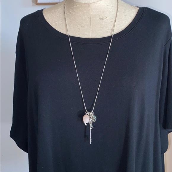 Torrid skull adjustable necklace